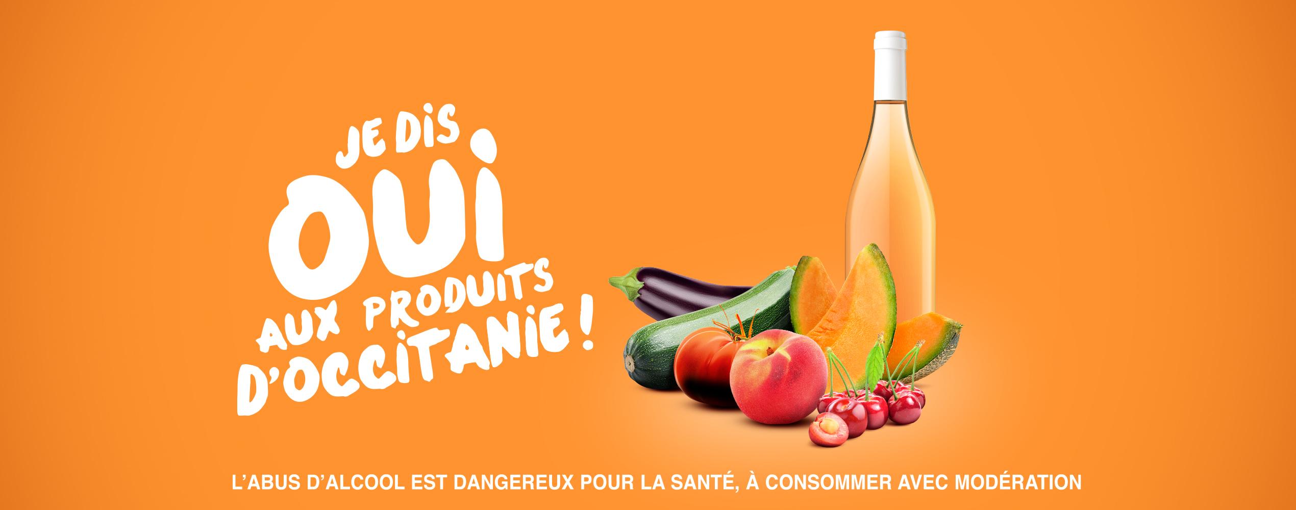 Je dis OUI aux produits d'Occitanie !